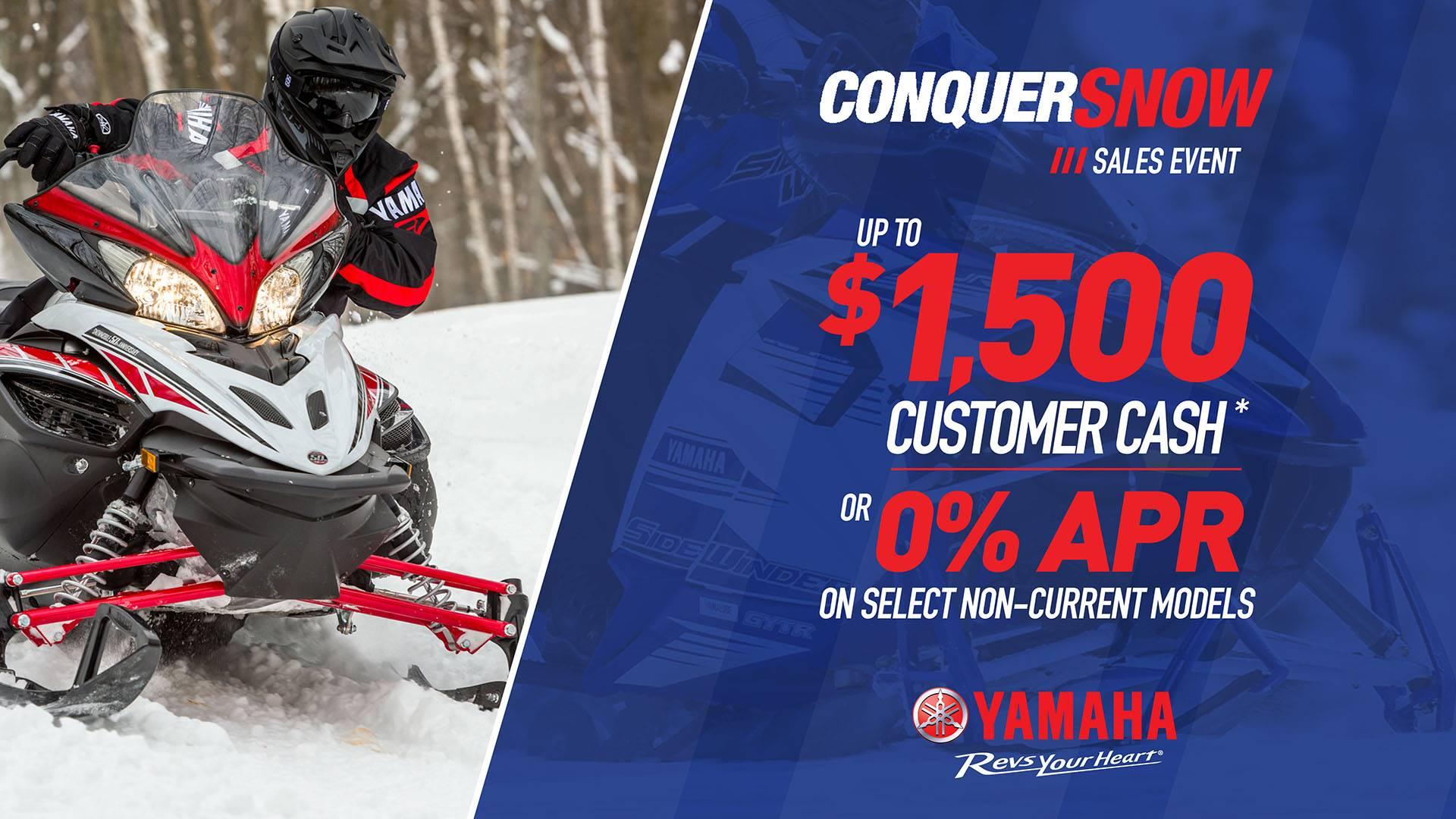 Yamaha Motor Corp., USA Yamaha Snowmobile - Current Offers and Financing