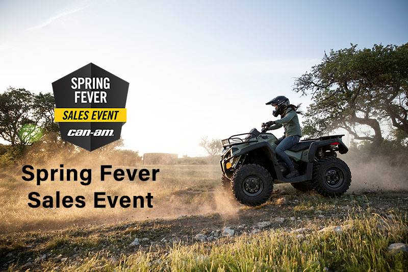 Can-Am - Spring Fever Sales Event - ATVs and SSV