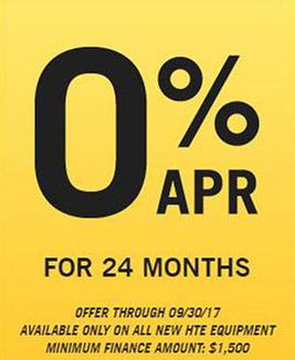 Hustler Sheffield Financial - 0% APR for 24 Months