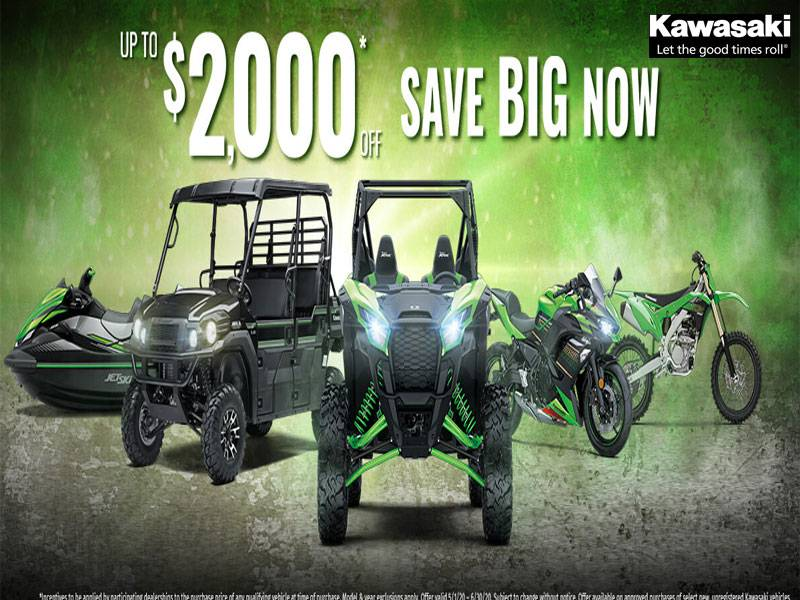 Kawasaki - Save Big Now