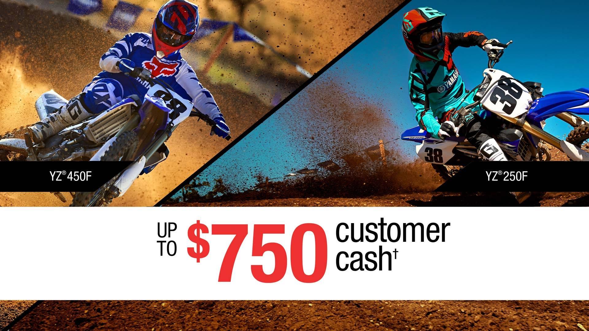 Yamaha - Dirt Motorcycles