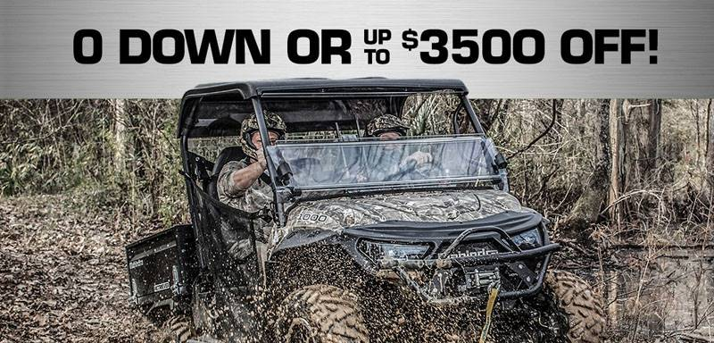 Mahindra - Get up to $3500 off on ALL UTV's