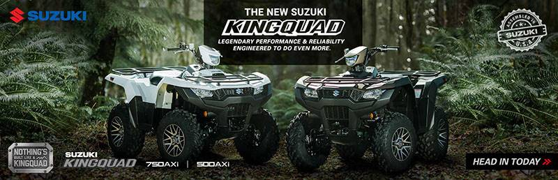 Suzuki Motor of America Inc. Suzuki - Summer Suzuki Fest for Utility Sport and Sport ATV