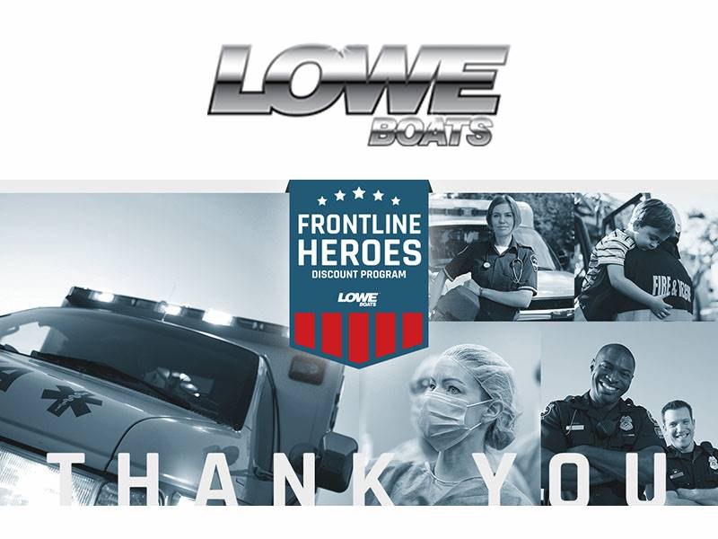 Lowe Boats - Frontline Heroes Discount Program
