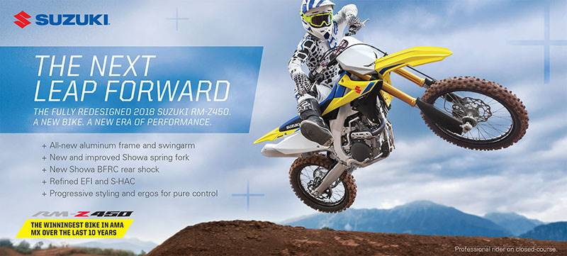 Suzuki Motor of America Inc. Suzuki - Summer Suzuki Fest for Motocross and Offroad