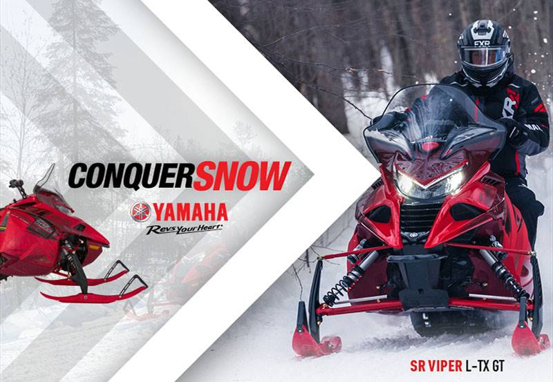 Yamaha Motor Corp., USA Yamaha Snowmobile - As Low As 0% APR for 6 months