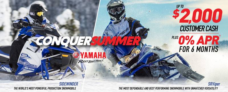 Yamaha Snowmobile - As Low As 0% APR for 6 months