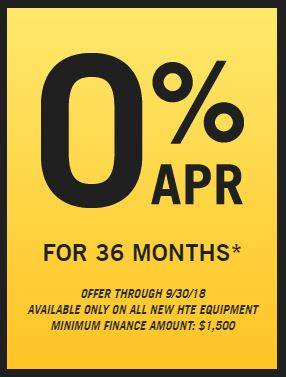 Hustler Turf Equipment 0% for 36 Months!