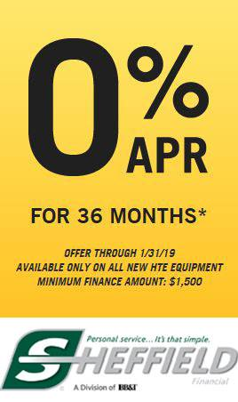 Hustler Turf Equipment - 0% APR for 36 Months