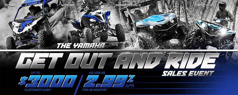 Yamaha Motor Corp., USA Yamaha Side-by-Side - Current Offers and Financing