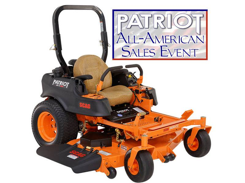 Scag Power Equipment - PATRIOT ALL-AMERICAN SALES EVENT