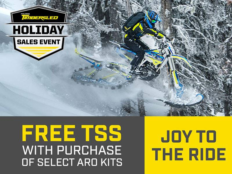 Timbersled - Holiday Sales Event