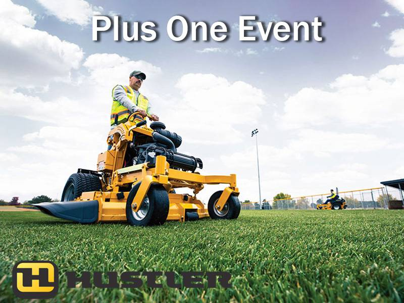 Hustler Turf Equipment - Plus One Event