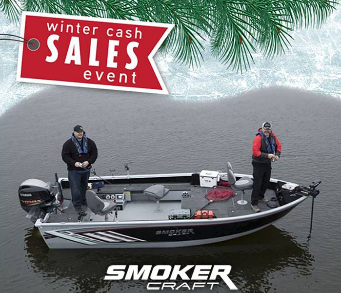 Smoker Craft - Winter Cash Sales Event