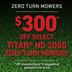 Toro - $300 USD Off Select TITAN HD 2000 Series Mowers