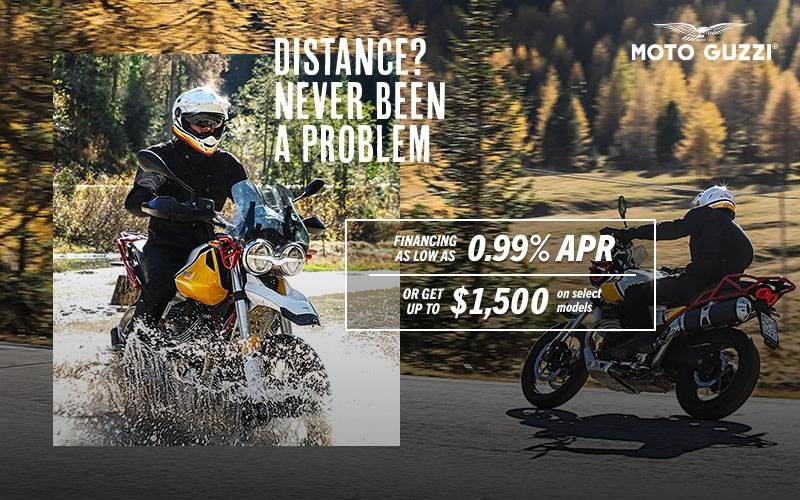 Moto Guzzi - Distance? Never Been A Problem