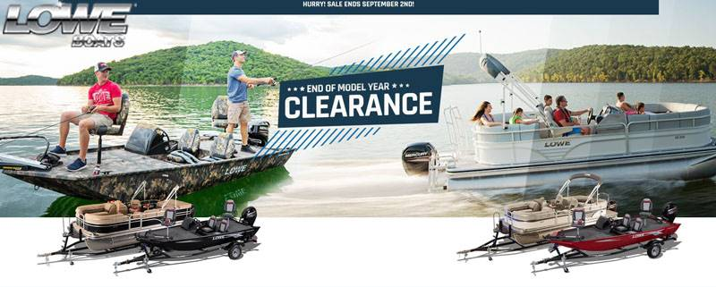 Lowe Boats - End of Model Year Clearance