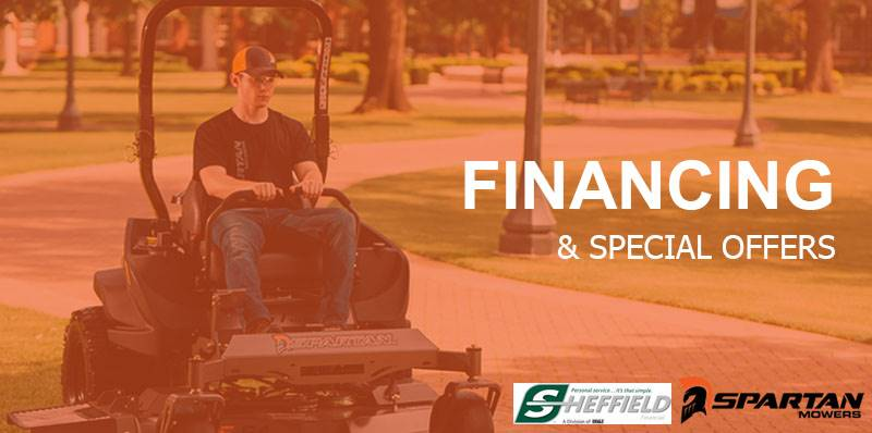 Spartan Mowers - Sheffield Financial Programs (6.99% - 12.99%)