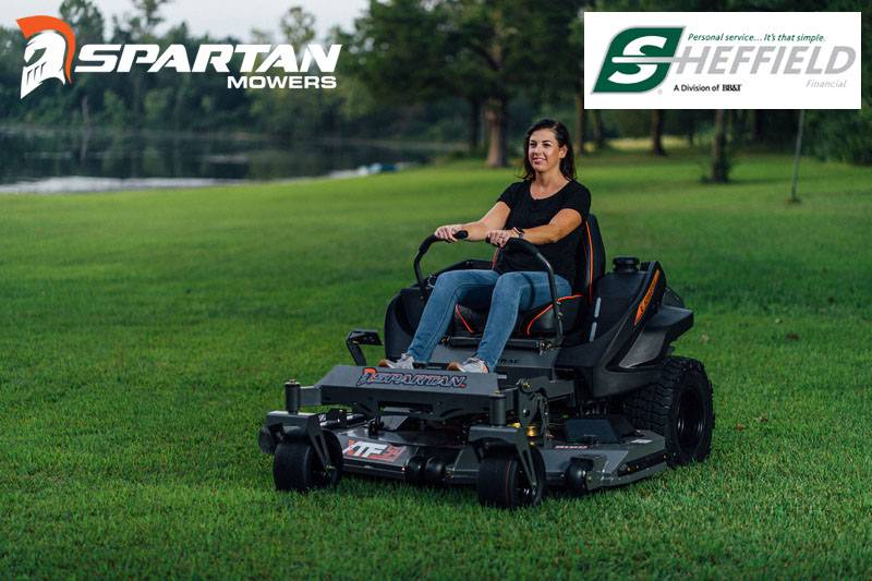 Spartan Mowers - Sheffield Financial Programs (6.99% for 12 Months - 3.99% for 60 Months)