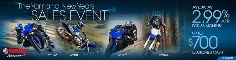 Yamaha Motorcycle  - Current Offers & Financing