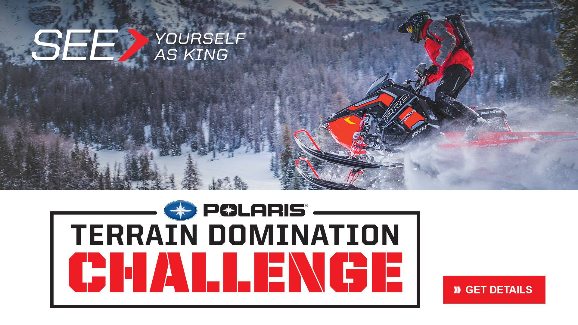 Polaris Snowmobiles Terrain Domination Challenge
