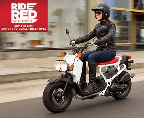 Honda - Scooters - 0% APR