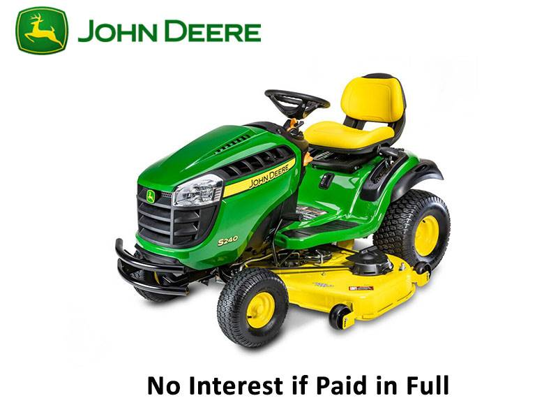 John Deere - No Interest if Paid in Full