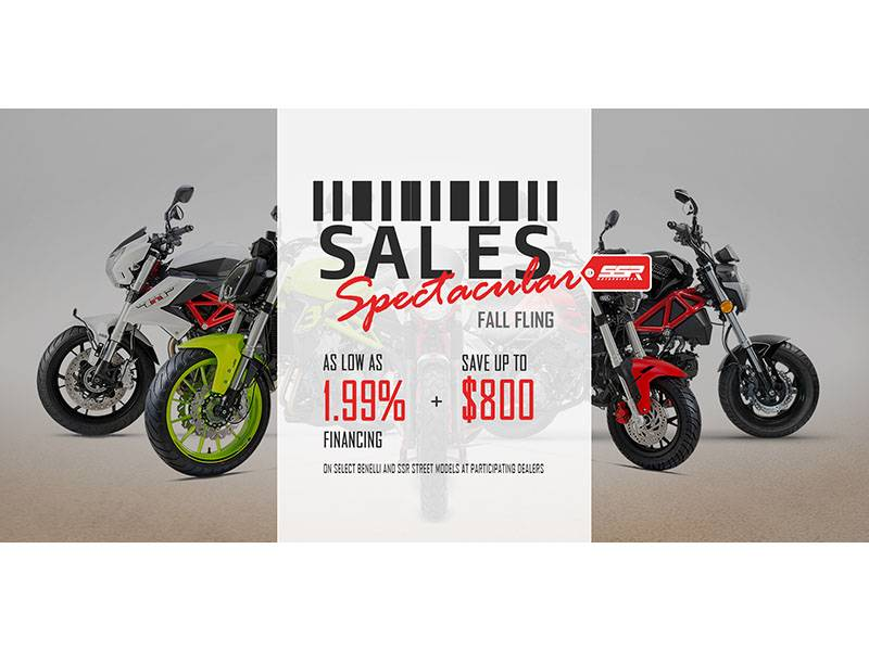 SSR Motorsports - SALES Spectacular Fall Fling - AS LOW AS 1.99% FINANCING + SAVE UP TO $800