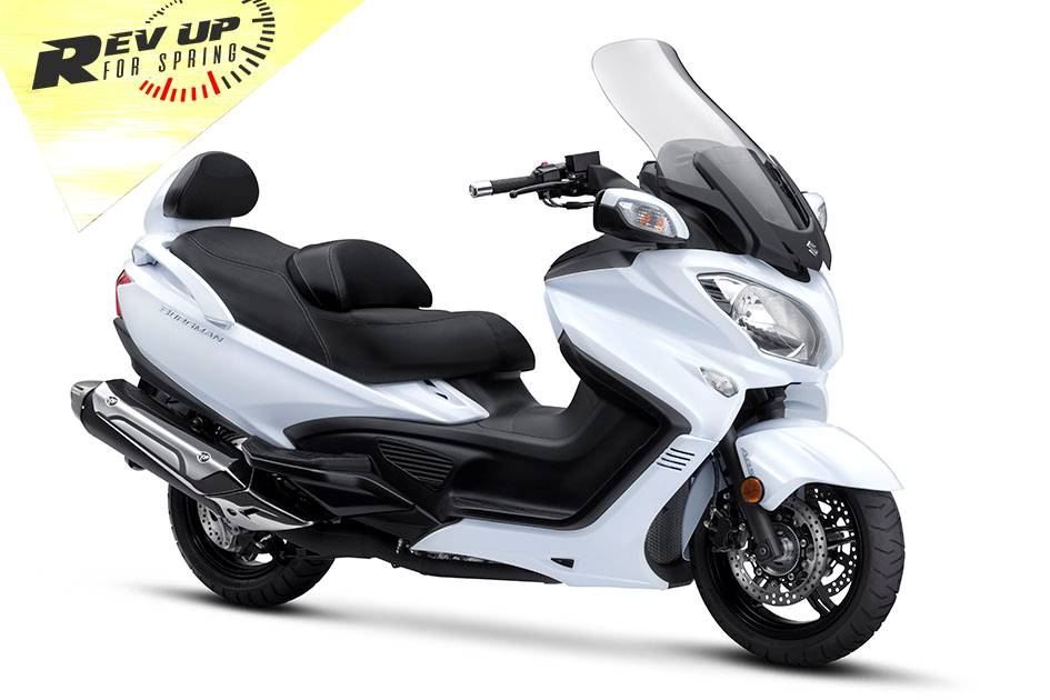 Suzuki Motor of America Inc. Suzuki - Rev Up for Spring for Scooter