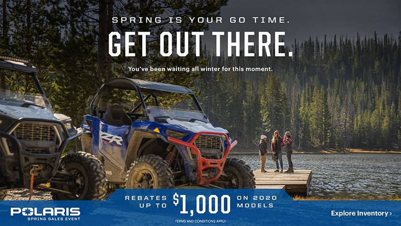 Polaris - Spring Sales Event - ORV