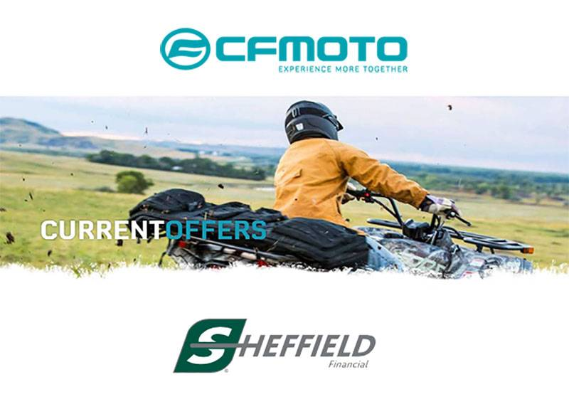 CFMOTO - Sheffield Financing