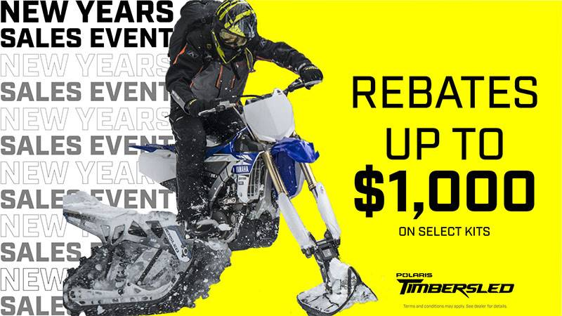 Timbersled - New Year's Sales Event