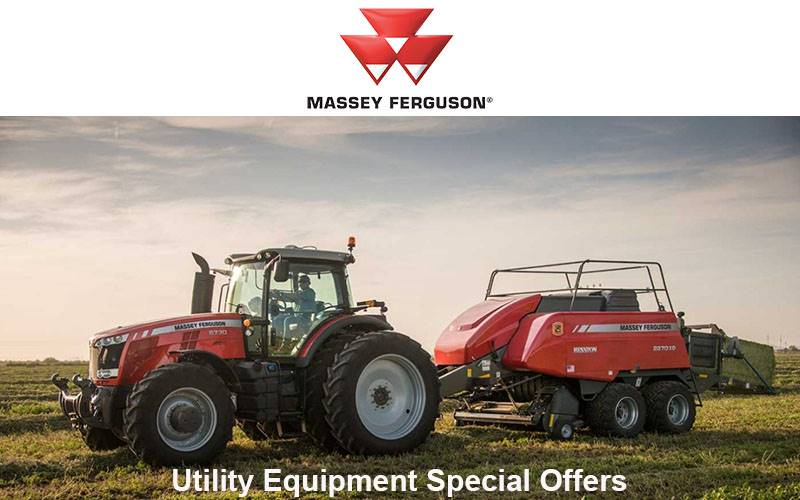 Massey Ferguson - Utility Equipment Special Offers