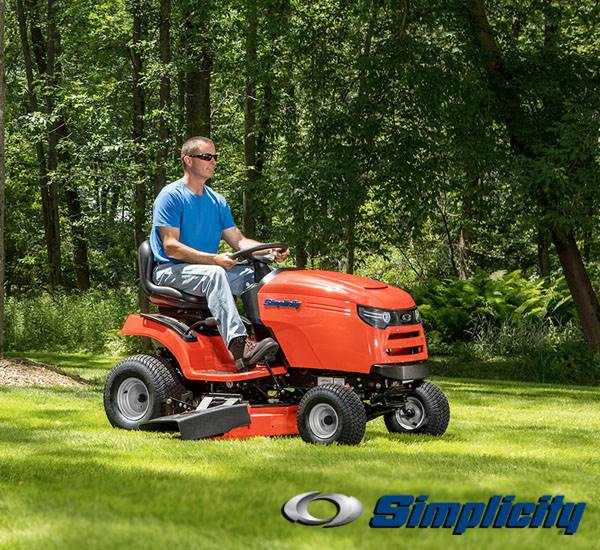 Simplicity - Regent™ $300 Customer Rebate / Lawn Tractor Savings