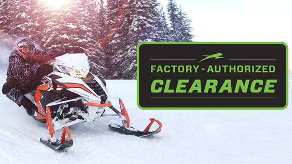 Arctic Cat - Factory Authorized Clearance