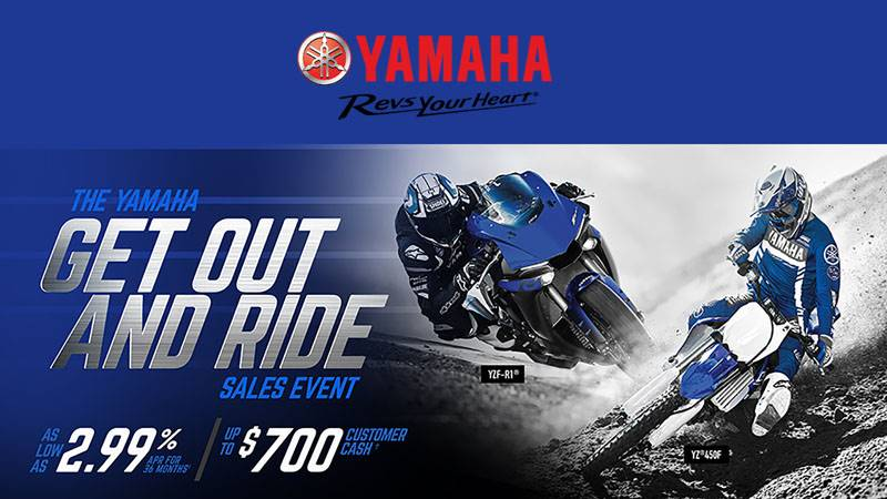 Yamaha Motor Corp., USA Yamaha Motorcycle  - Current Offers & Financing