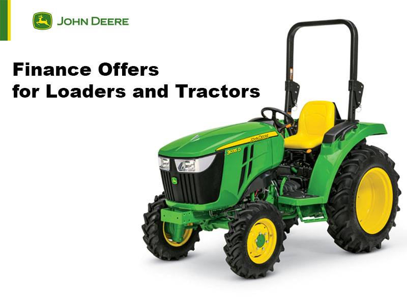 John Deere - Finance Offers for Loaders and Tractors