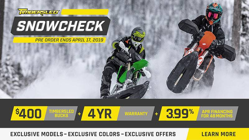 Timbersled - SnowCheck Offers