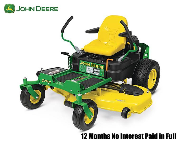 John Deere - 12 Months No Interest Paid in Full on Z300 Series