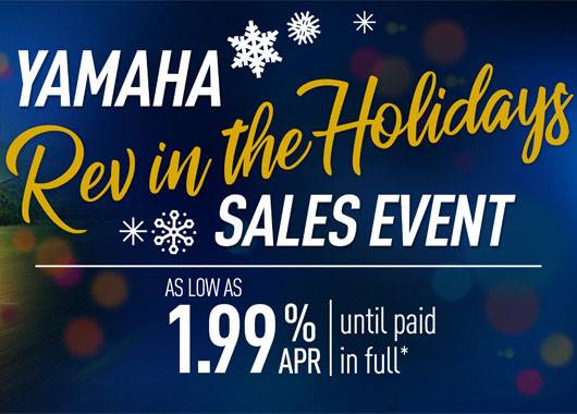 Yamaha - Rev in the Holidays Sales Event - Touring Motorcycles