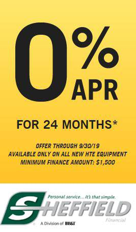 Hustler Turf Equipment - 0% APR for 24 Months