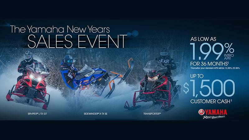 Yamaha - New Years Sales Event