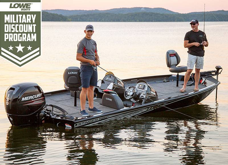 Lowe Boats - Military Discount Program