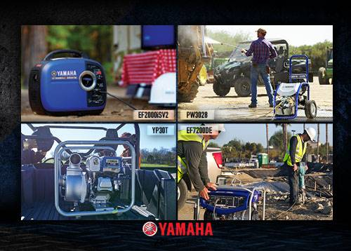 Yamaha Motor Corp., USA Yamaha - Power Products - Yamaha Card Program