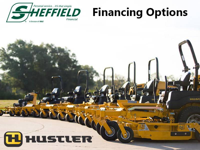 Hustler Turf Equipment - Sheffield Financing Options