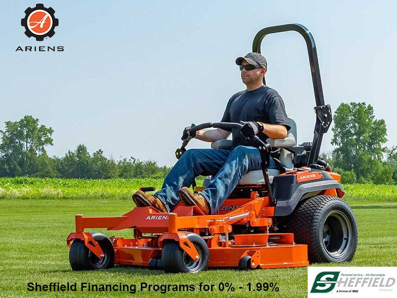 Ariens USA - Sheffield Financing Programs for 0% - 1.99%