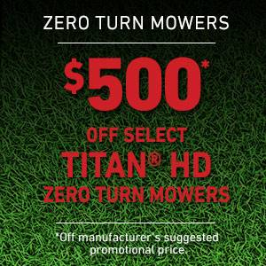 Toro - $500 USD Off Select TITAN HD Mowers