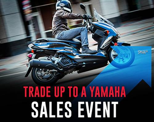 Yamaha Motor Corp., USA Yamaha - Trade Up to a Yamaha Sales Event - Scooters