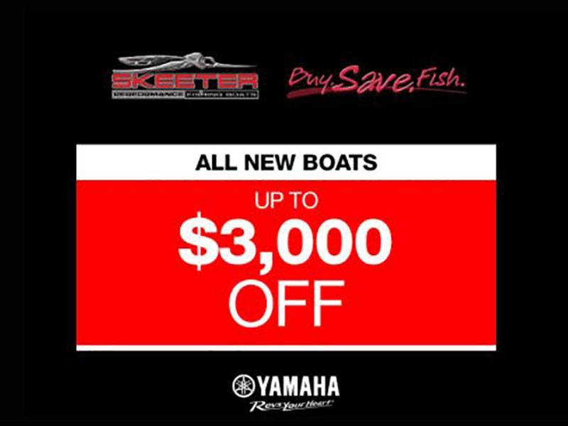 Skeeter - All New Boat Up To $3,000 Off