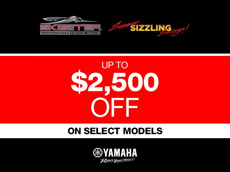Skeeter - $2,500 Off On Select Models